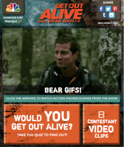 Get_Out_Alive_Blog_App screenshot