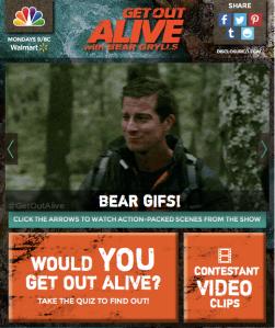 Get_Out_Alive_Blog_App screenshot