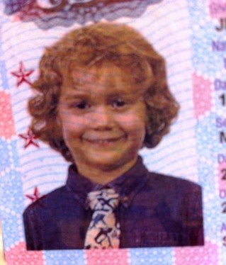 Dwight's passport picture from when we first moved overseas in 2006.