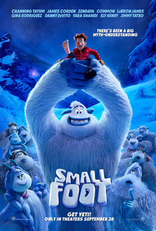 Smallfoot_(film) one sheet